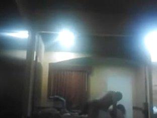 Hidden Web Camera Obese Wife Takes Darksome Jock