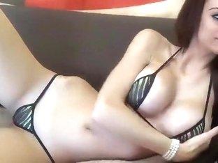 CutieBambi. Big Tits Tiny Bikini