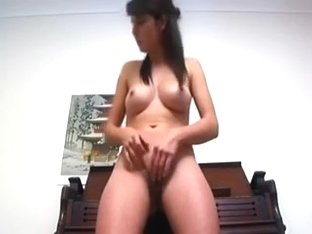 Sporty girlfriend in sexy and taut yoga pants stripping off