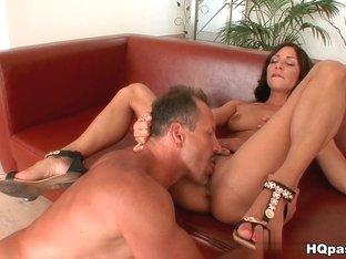 Exotic pornstar in Incredible Blowjob, Cunnilingus xxx scene