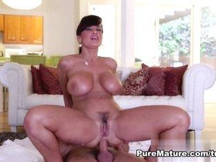 Crazy pornstar Lisa Ann in Best Redhead, Latina xxx scene