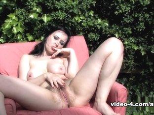Fabulous pornstar in Amazing Big Tits, Hairy sex video