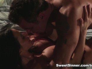 Horny pornstars Ariella Ferrera, Steven St. Croix in Hottest Latina, Big Ass sex movie