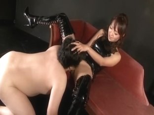 Boots bondage DE Yamai Mitsuki Handjob sexual feeling