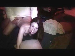 Amateur wife doggy fuck and creampie