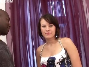 Horny pornstars Cadence St. John and Phoenix Askani in exotic stockings, blowjob adult clip