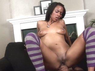 Porsha Karrera in Horny Black Babysitters #2