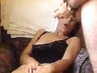 Adult amateur couple and sedously masturbates being too excited