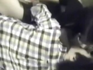 Sexy girl gets penetrated by her partner in the stairwell