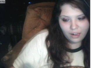 My pretty teen face on webcam