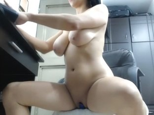 jiggling boobs on webcam