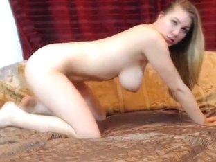 BustyyBlondee masturbate masturbates with dildo