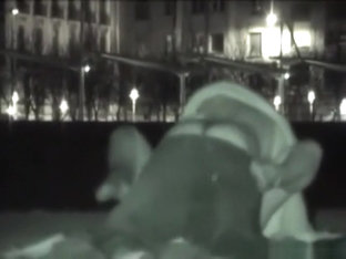 Voyeur tapes various couples having public sex at night in spain
