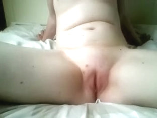 Obese Dutch pale skinned playgirl spreads her legs on cam