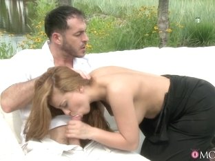 Horny pornstars James, Veronica Vanoza in Best Romantic, Redhead adult video