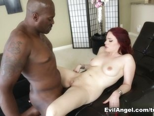 Fabulous pornstars Jessica Ryan, Lexington Steele in Horny Redhead, Interracial porn video