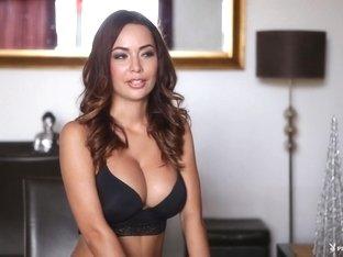 Horny pornstar Adrienn Levi in Best Striptease, Beach porn movie
