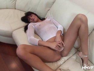 Fabulous pornstars in Horny Brunette, Stockings porn video