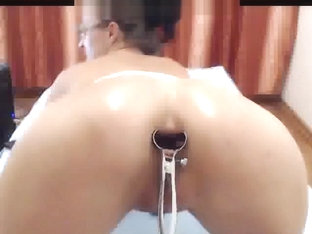 Real Amateur Webcam Girl Anal Speculum