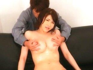 Amazing Japanese chick Anri Okita in Horny Big Tits, Fingering JAV scene