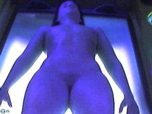 Voyeur webcam nude girl in solarium part28