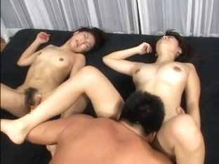 Fabulous JAV censored xxx scene with incredible japanese girls