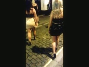 Sexy PVC & Leather Miniskirt Girls' Night Out
