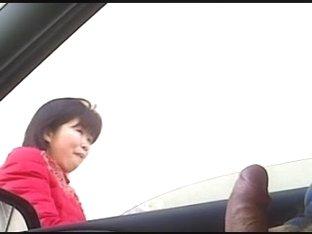 Flashing in car
