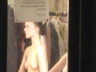 Ballet changing room voyeur