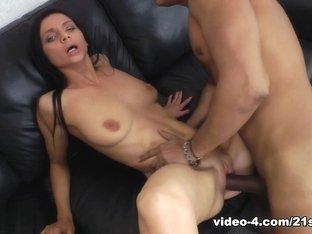 Horny pornstar Anita Sparkle in Exotic Interracial, Brunette sex video