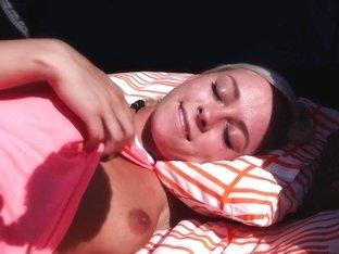 Crazy pornstar Naomi Nevena in exotic dildos/toys, outdoor porn clip