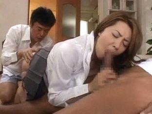 Amazing Japanese model Yumi Kazama in Incredible Doggy Style, Big Tits JAV movie