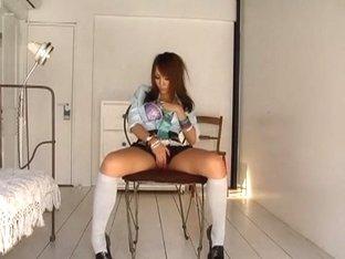 Best Japanese whore Rio Sakura in Incredible Stockings, BDSM JAV video
