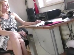 Sexy milf shows her sexy legs  feets and heels
