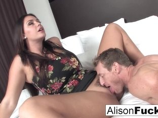 Alison Tyler in Alison Hires A Friend For The Evening Who Gives Her A Good Fuck - AlisonTyler