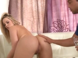 Appetitizing blonde Alexis Texas with curvaceous ass and lucky Rocco Reed