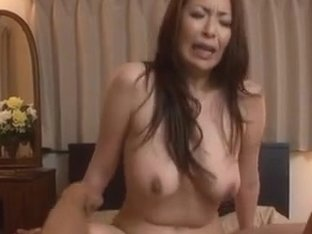 Aoi Aoyama enticing hot mature Asian babe in hardcore action