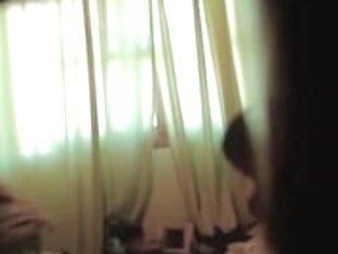 Spy cam solo girl spied dressing after the shower
