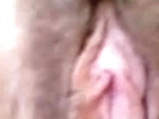 Mature amateur has her hairy pussy licked by her man