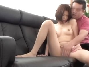 Japanese lady seduced and drilled on a spy camera