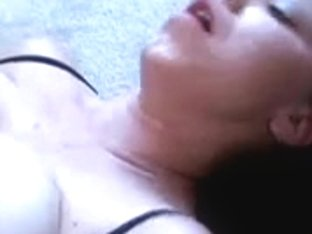 Pale Large Titted Luna Receives Drilled
