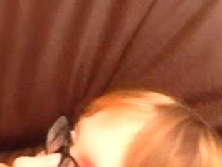 Bald redhead