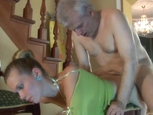 HornyOldGents Video: Cecilia and Caspar M