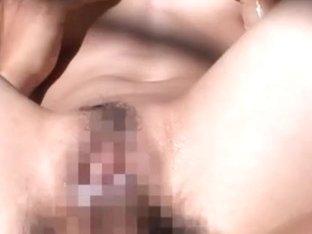 Anri Suzuki Asian doll likes sex in the outdoors