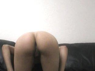 Young slutty brunette sure knows how make a man cum