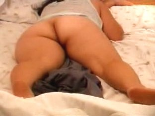 Guy filming his naked wife