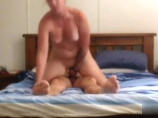 Fastened him up and made him fuck me  what do u think?