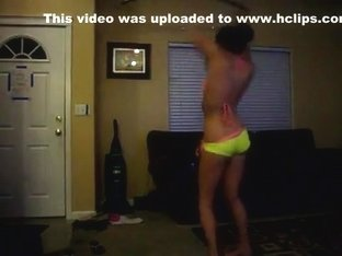 Fabulous twerking web camera dance episode