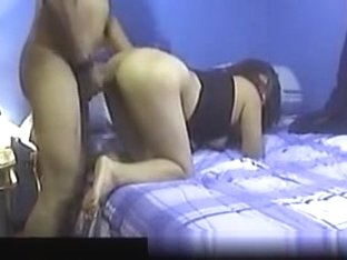 Compilation of a latina with big booty riding, doggystyle fucking and blowing her man