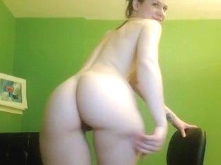 Sexy naked slut licks her sex toy
